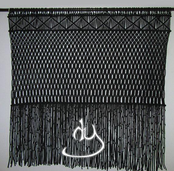 Macrame Wall Hanging - Black