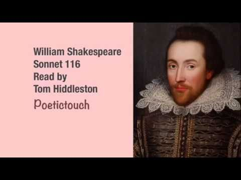 Sonnet 116 by William Shakespeare as read by Tom Hiddleston