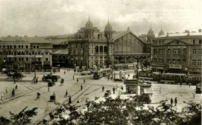 Hungary, Budapest / Berlini tér, 1920-30
