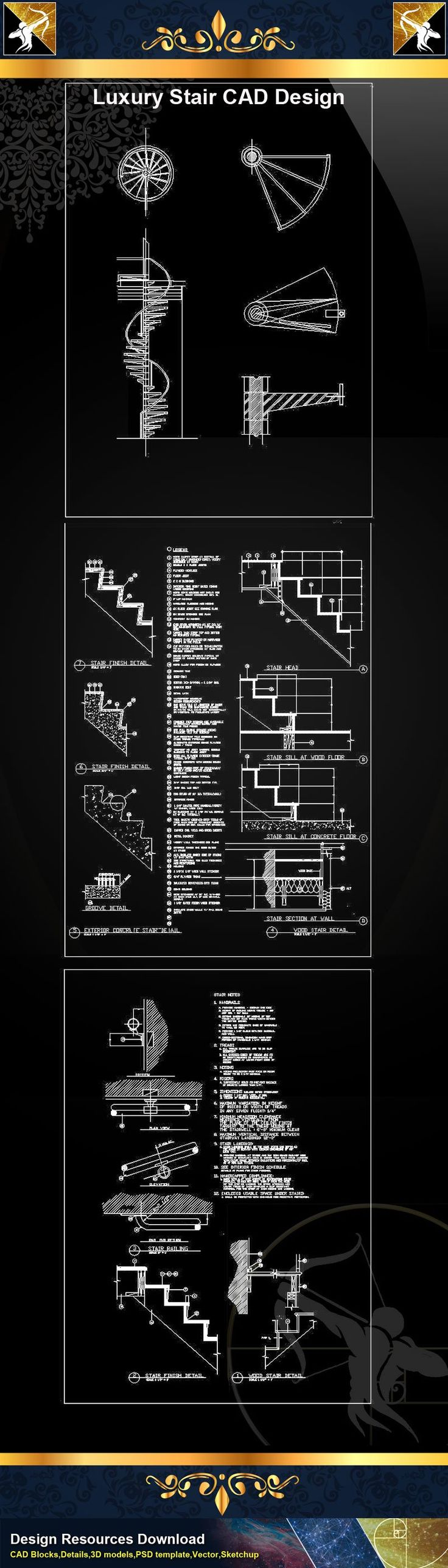 27 best CAD DRAWINGS images on Pinterest | Cad drawing, Architecture ...