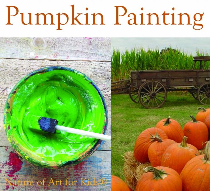 Best paint for pumpkin painting projects, kids DYI projects