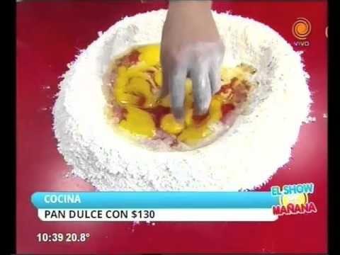 Pan Dulce / Panetone / Pan de Pascua fácil y rápido - YouTube