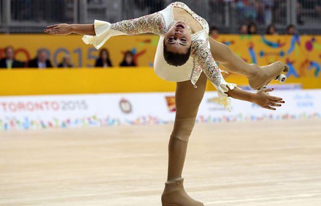 Juegos Panamericanos: Giselle Soler se llevó el oro en patín artístico - #Toronto2015 - http://befamouss.forumfree.it/?t=71094598