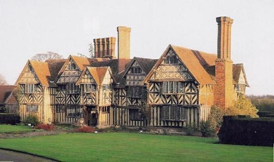 Grimshaw hall, west midlands  #tudor   #architecture   #Britain