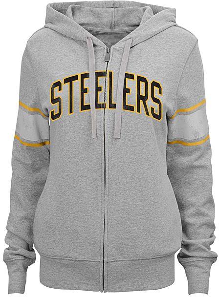 Pittsburgh Steelers Boyfriend Hoodie - Juniors