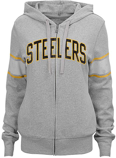 Pittsburgh Steelers Boyfriend Hoodie - Juniors