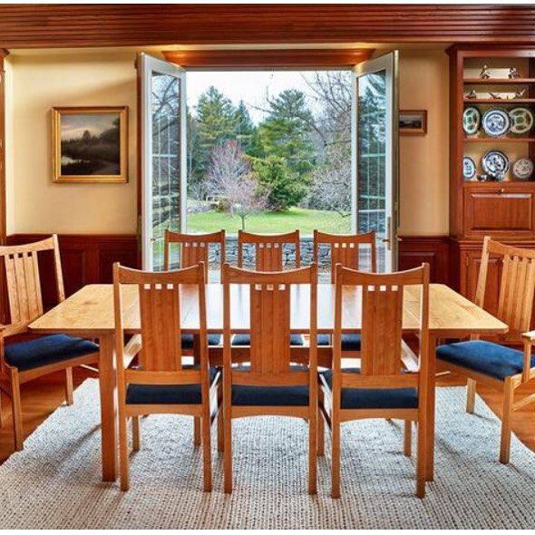 The Rodel Collection Is A Collaboration Between Chilton And Award Winning Maine  Furniture Builder Kevin Rodel. The Pieces Are Built In Cherry And Feature  ...