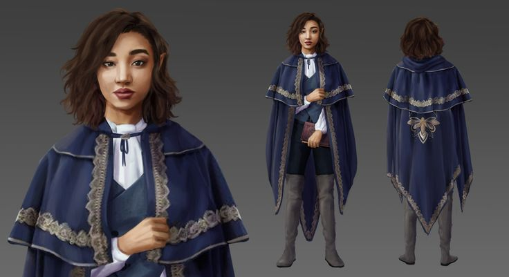 ArtStation – Darisa Darren, Lucy Carracedo Character design of one of many charac…