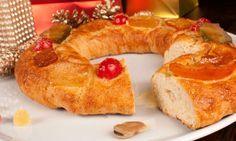 Receta de Roscón de Reyes especial alergias: sin huevo ni leche