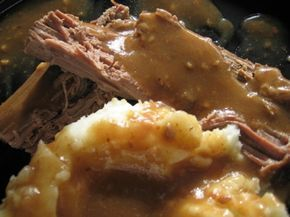 Kittencals Slow Cooker Eye Of Round Roast With Gravy Recipe - Food.com This was very good and everyone loved it!