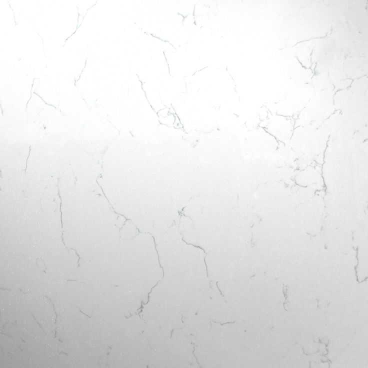 Attica White Carrera- brand new to the range, this white marble effect style quartz has a stunning blue vein running throughout it, making it look a bit like stilton cheese.