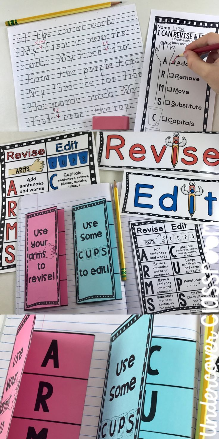 25 best Revising and Editing Strategies images on Pinterest | School ...