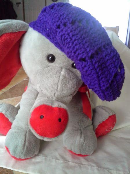 Purple Beanie chic!