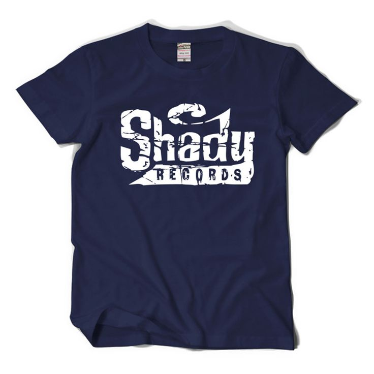 Ruffian Eminem Shady Records Short Sleeve T-Shirt Male 2017 New Summer T-Shirts Racing Hip Hop RAP t shirt Free Shipping #Affiliate