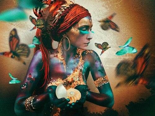 A Little Bohemian Butterfly Fantasy ....