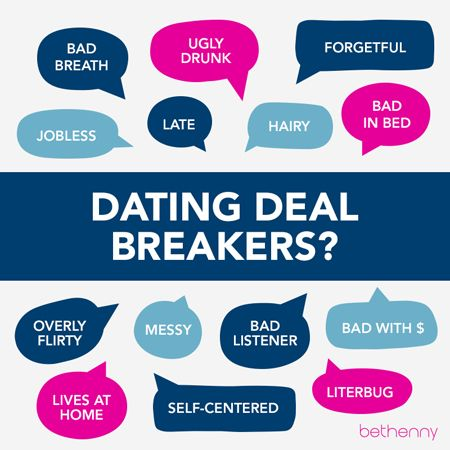 Dating deal breakers funny 25 Biggest Dating Deal Breakers for Women!