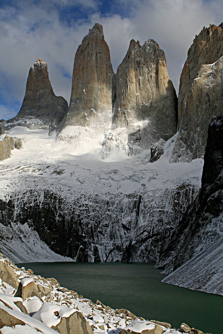Beautiful photo of Patagonian mountains.  I found this pic from source below photo.  To correct any confusion, I didn't take this photo!