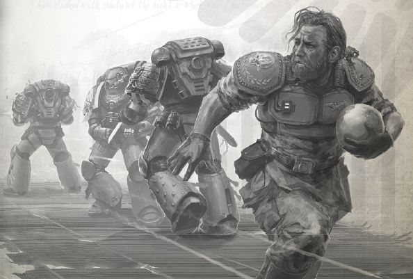 """shrike-of-hyperion: """" terran-barber: """" jolly-plaguefather: """" """"NOT DEALING WITH IT, NOT DEALING WITH IT, ASTARTES ARE DOING THE THING, NOT DEALING WITH IT!"""" - The smart Guardsman, probably named..."""