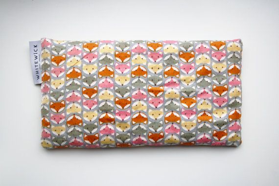 Lavender Scented Wheat Heat Pack/Bag (Therapeutic) - Foxes Pattern