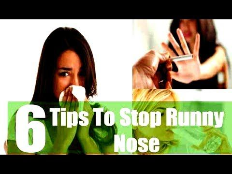 How to Stop Runny Nose Naturally Fast With 6 Top Tips