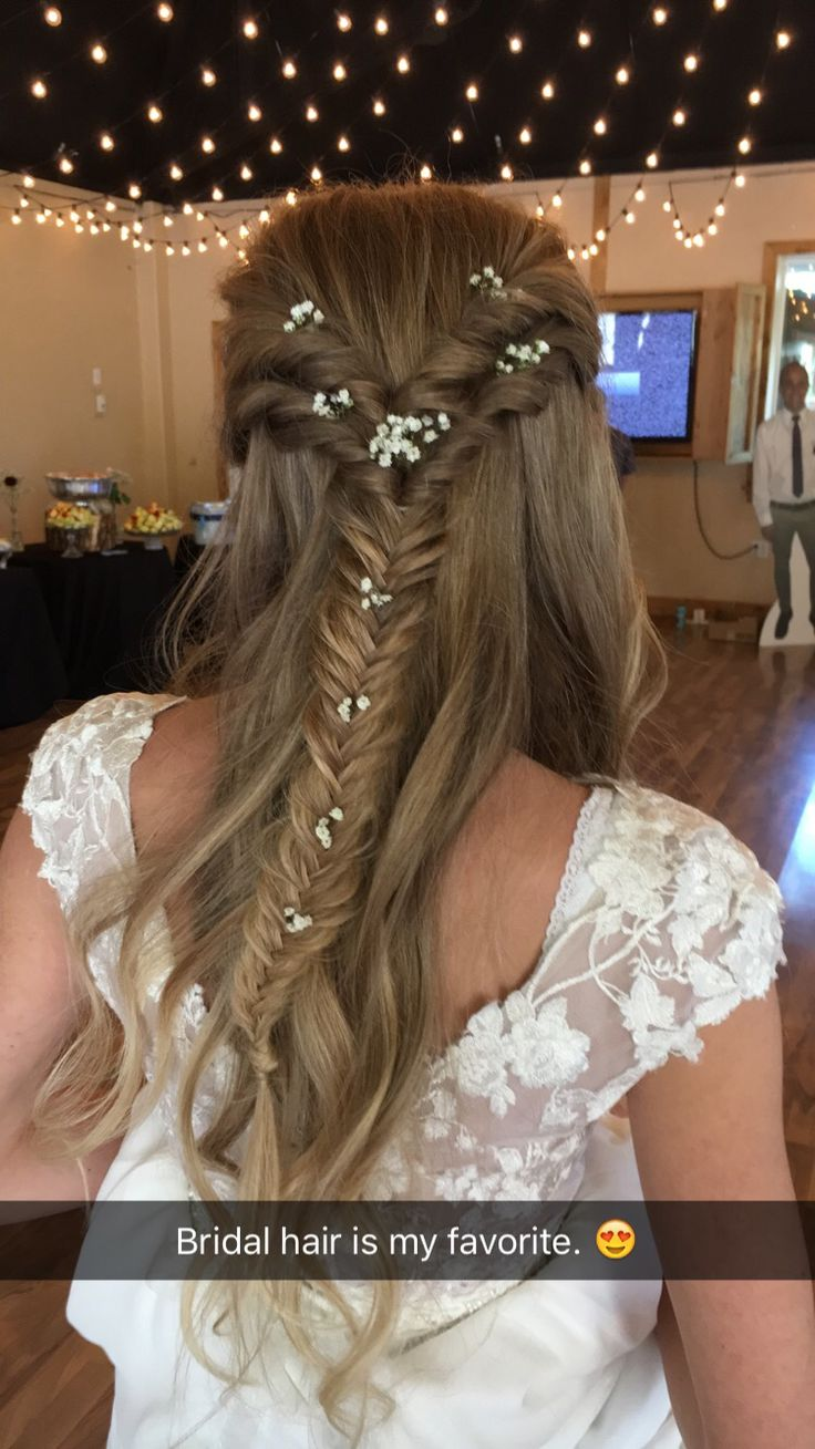 beautiful fishtail wedding