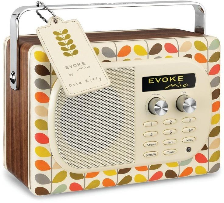 Evoke Mio DAB Radio by Orla Kiely.