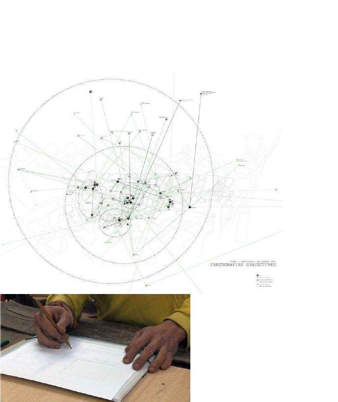 Subjective cartographies - Poble Sec - Barcelona