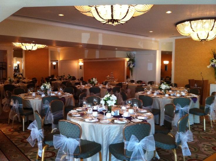 Reception venue: Four Seasons Vancouver- Yashinta & Kay (Aug '12)