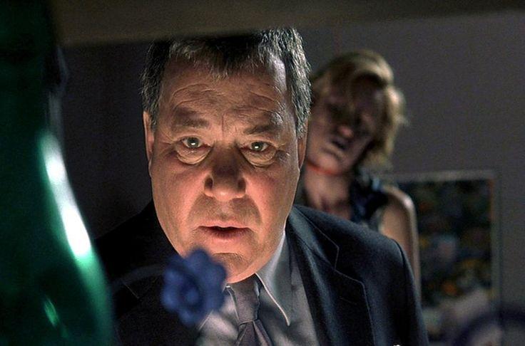 William Shatner in American Psycho 2 - http://horrorpedia.com/2016/03/10/american-psycho-2-2002/