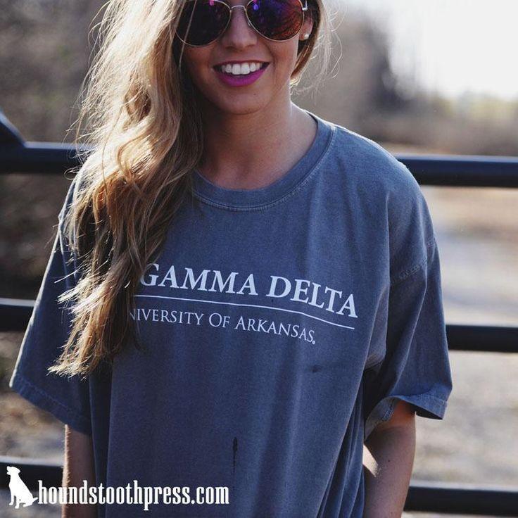 Phi Gamma Delta rush tee | #LoveTheLab houndstoothpress.com | Fraternity…