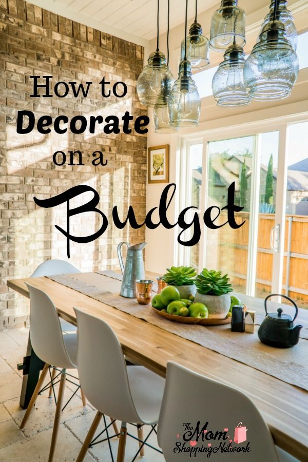 How To Decorate Your Home On The Cheap The Mom Shopping Network