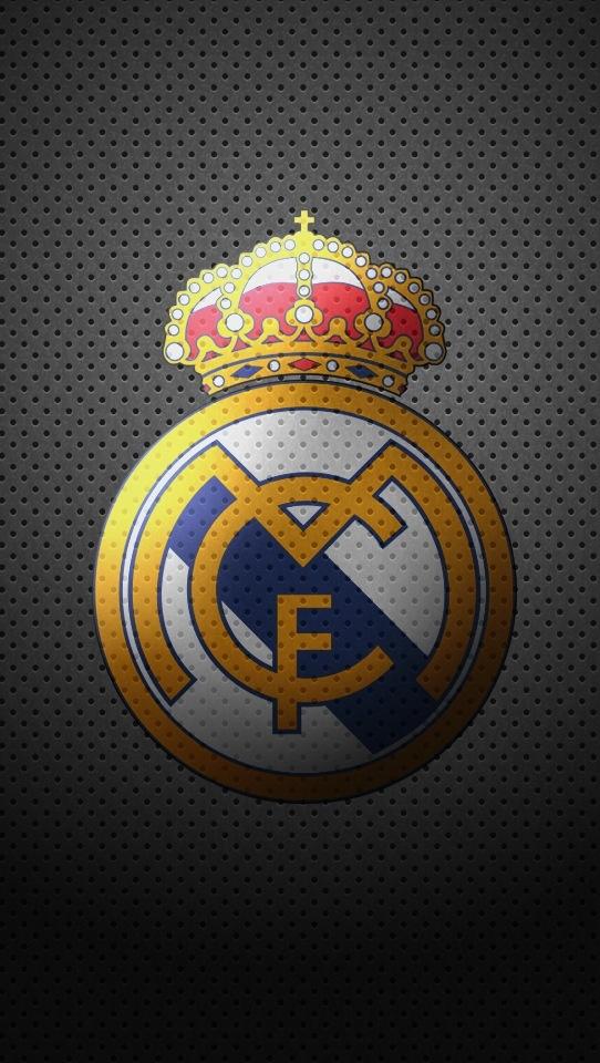 Escudo Real Madrid. calado
