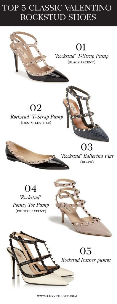 Valentino Rockstud Shoe Review - Luxy Theory