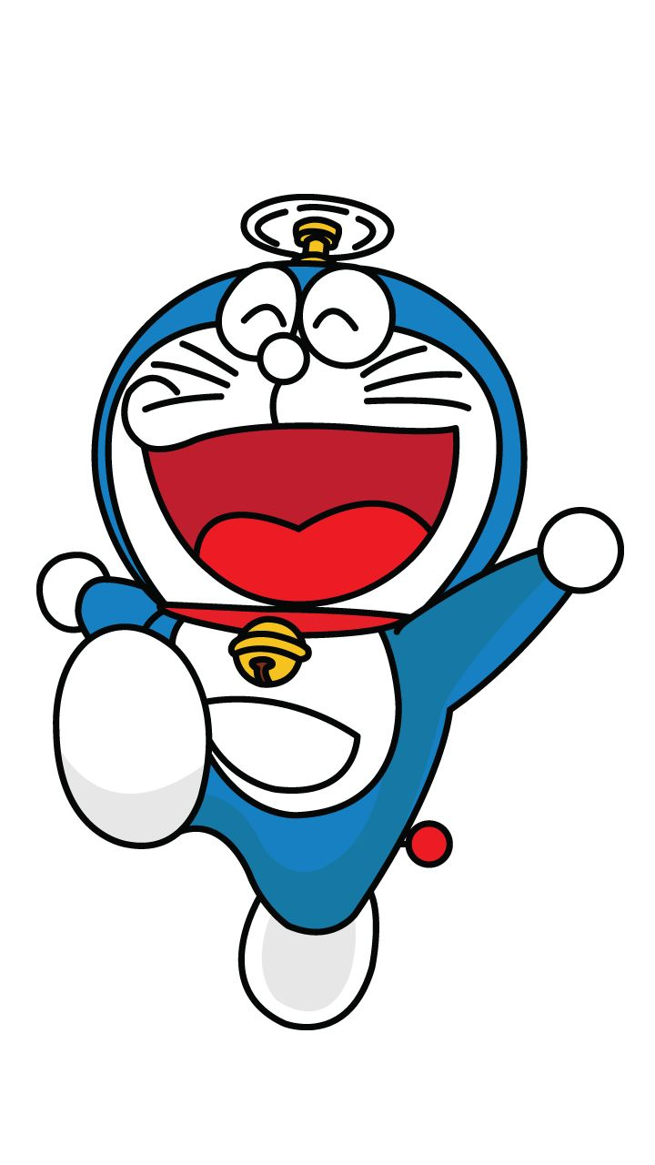 Doraemon drawing tutorial, step-by-step  http://drawingmanuals.com/manual/how-to-draw-a-doraemon/