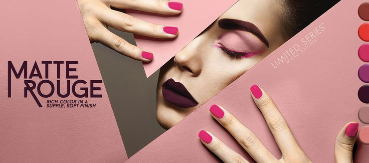 Color Club, Matte Rouge Collection Nail Lacquer, Fall 2015