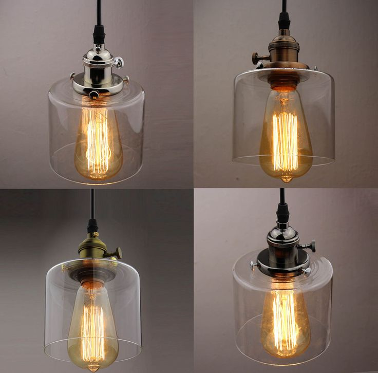 Chandelier Lampshade: Clear Glass Bottle Vintage Retro Bar Lampshade Chandelier Ceiling Pendant  Light,Lighting