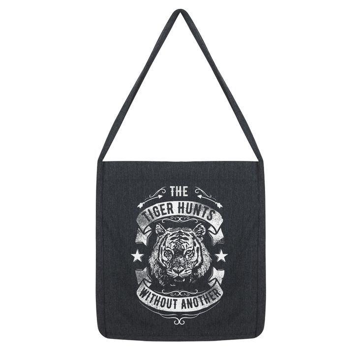 Have you seen this? The Tiger Hunts a... - click through http://loveanddesign.com/products/the-tiger-hunts-alone-plain-tote-bag?utm_campaign=social_autopilot&utm_source=pin&utm_medium=pin
