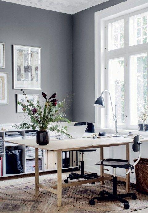 Home of interior stylist Cille Grut - via cocolapinedesign.com
