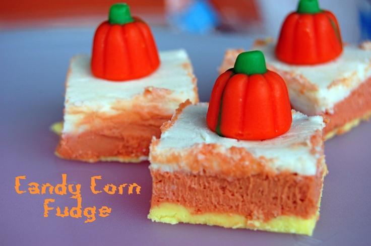 candy-corn-fudge | fall | Pinterest