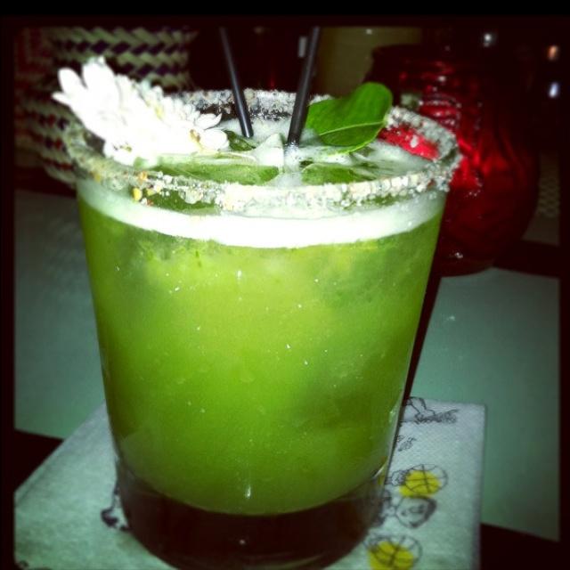 Spicy Margarita @ Las Perlas DTLA! | Foods | Pinterest