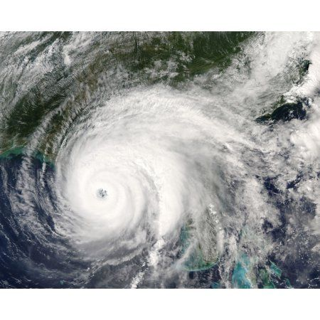 Hurricane Ivan Canvas Art - Stocktrek Images (31 x 25)
