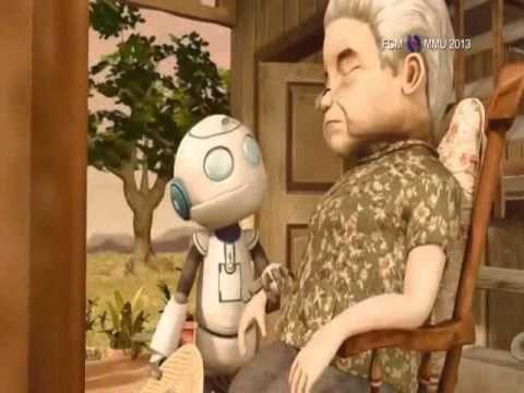 Video: el robot y la abuela