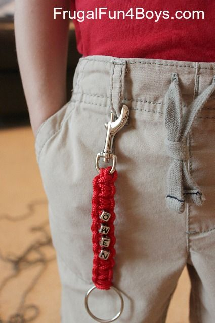 How To Make Parachute Cord Paracord Zipper Pulls And