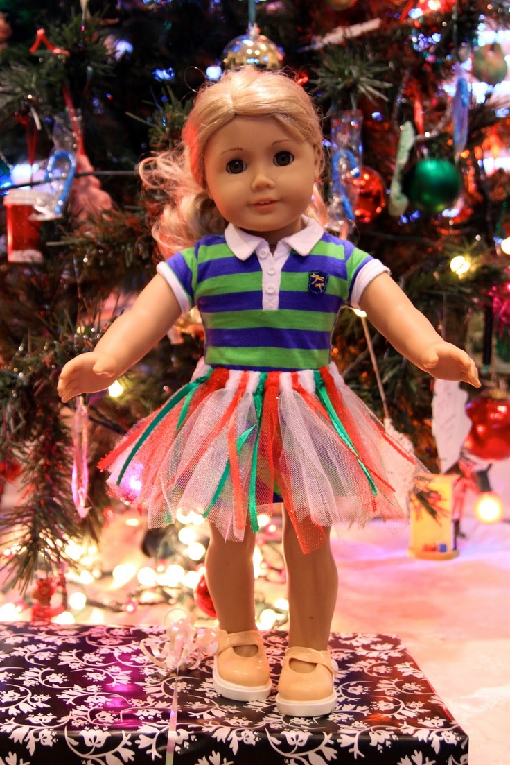 How to make christmas decorations for your ag doll - Life Sprinkled With Glitter American Girl Doll Tutu