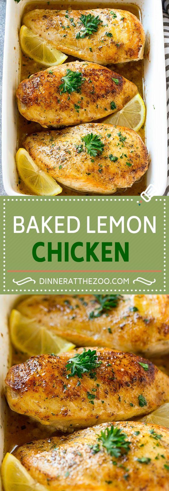 Baked+Lemon+Chicken+Recipe+|+Baked+Chicken+Breasts+|+Lemon+Chicken+Recipe+|+Easy+Chicken+Recipe