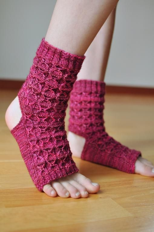 Donna's Yoga Socks Knitting Pattern