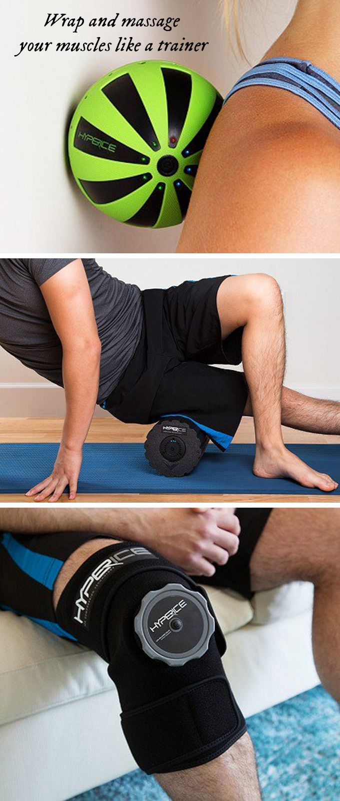 Wrap and massage your muscles like a trainer—all by yourself. These recovery tools help promote muscle recovery and better performance.