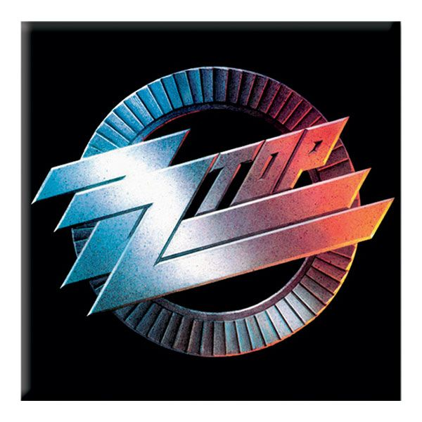 zz top rock n roll band fridge magnet logos home and