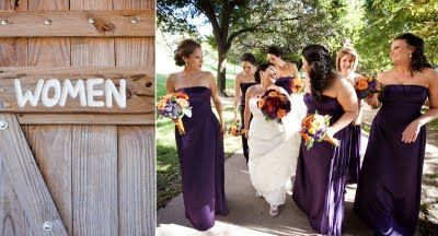 Bouquets of Austin: August 2011. Like the purple fall flowers but change some of the orange for red.