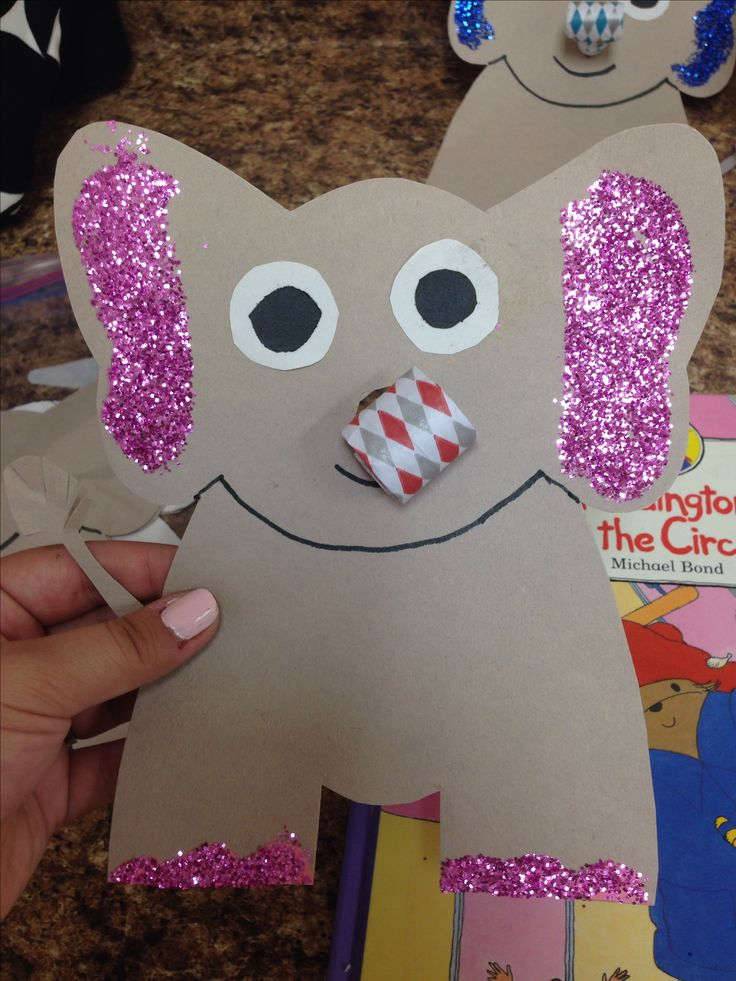 Circus craft: Elephant